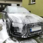 Audi A6 Usunięcie rys z maski i otarcia na błotniku