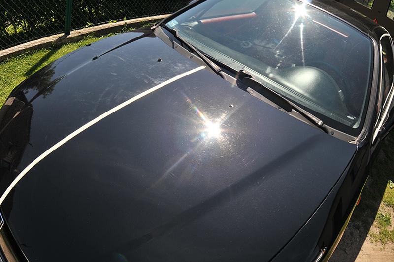 Red Ford Fusion >> Honda CRX Del Sol | czarna perła | Detailing, kosmetyka